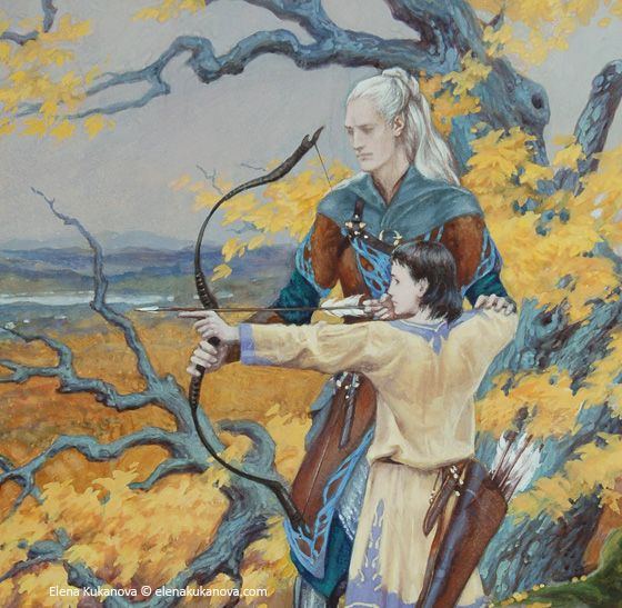 Beleg brother-in-arms of Túrin Turambar. When Túrin left Doriath, Beleg got permission from Thingol to follow him into exile, wielding the black sword Anglachel that Eöl had forged and given to Thingol in tribute.