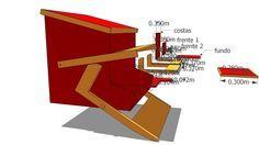 Large preview of 3D Model of alimentador automatico de galinhas - Automatic Chicken Feeder