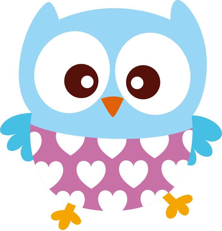 cute owl clip art - 736×765