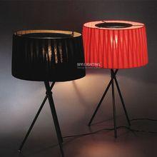 Дизайн моды спальня лампы настольные лампы спальня прикроватные исследование настольная лампа домашнего освещения E14 * 1 лампа 110 240 В