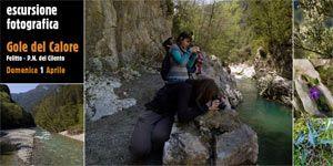 Escursione fotografica – Gole del Calore, Felitto http://www.portarosa.it/escursione-fotografica-gole-del-calore.html