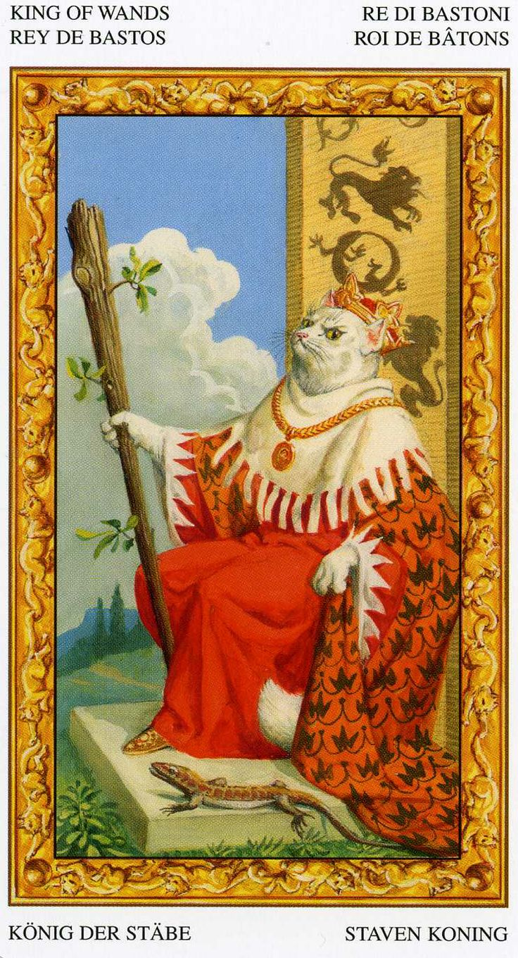 98 Best Images About Cats In Tarot: Tarot Of The White