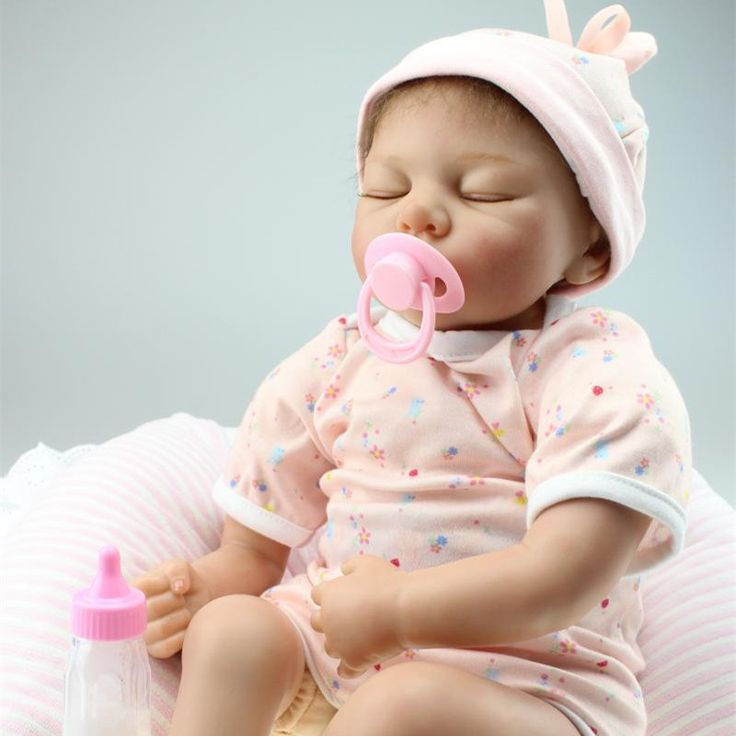 Real Life Baby Dolls Realistic Silicone Reborn Baby Dolls Best Gifts For Newborn Baby Girl 55 cm Cheap Reborn Babies For Sale