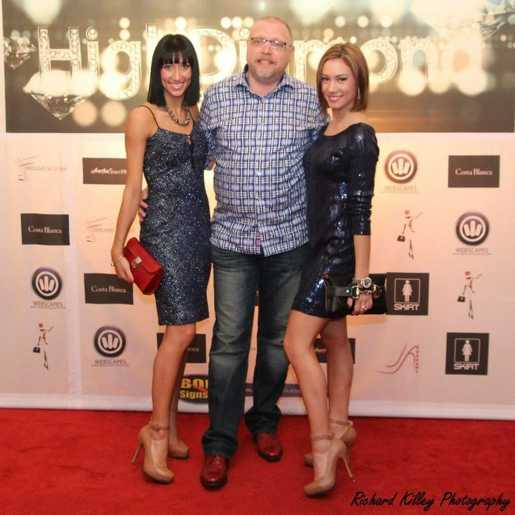 """With HighDiamond at the premiere of their hit single """"Broken"""""""