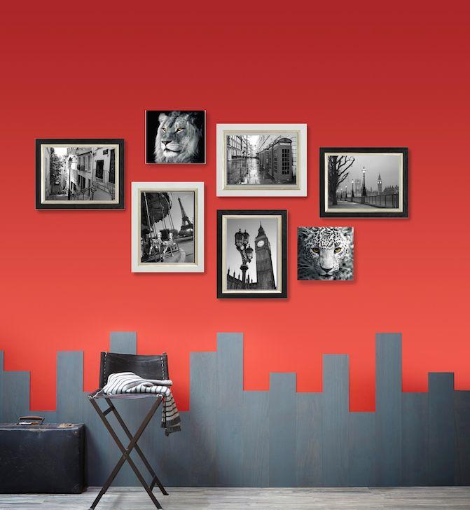 145 best juega con tus paredes images on pinterest color - Leroy merlin pintura interior ...