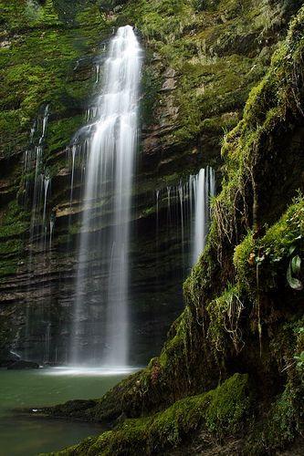Cascades du Flumen, Jura, Franche-Comté