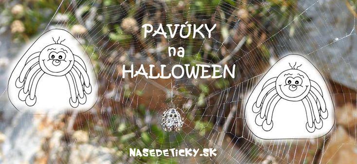 Vytlačte si pavúky a ozdobte si nimi na Halloween celý dom. Ideálne na halloweensku párty.