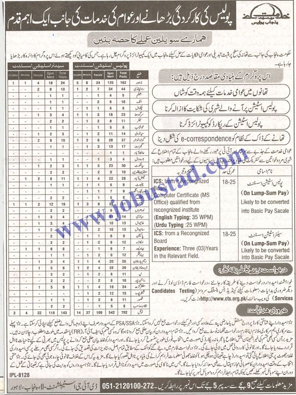 Punjab Police Jobs 2020 Advertisement 850 Latest Police Jobs In Punjab Police Jobs Newspaper Jobs Jobs In Pakistan