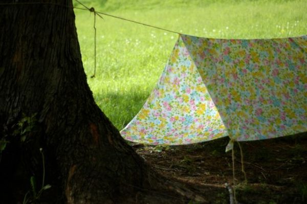 How to Make a Backyard Tent