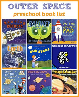 Outer Space Picture Books from Ready-Set-Read!