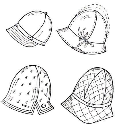 Женские головные уборы 1962/ Women's hats 1962 on-line book
