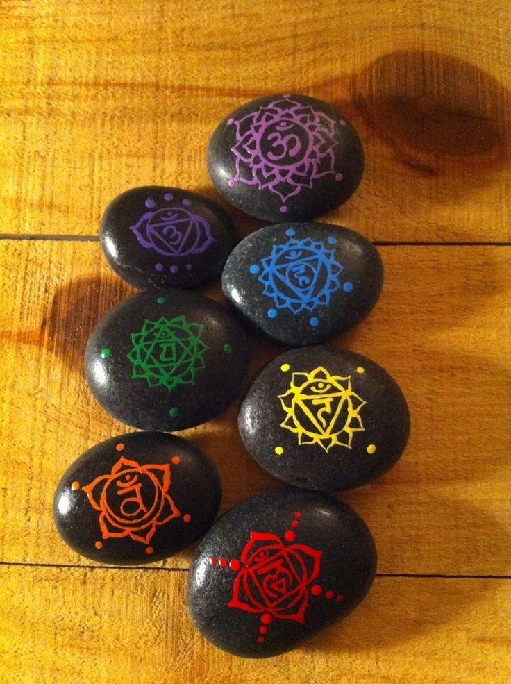 Pierres Chakras / Chakra Stones, C$30.00