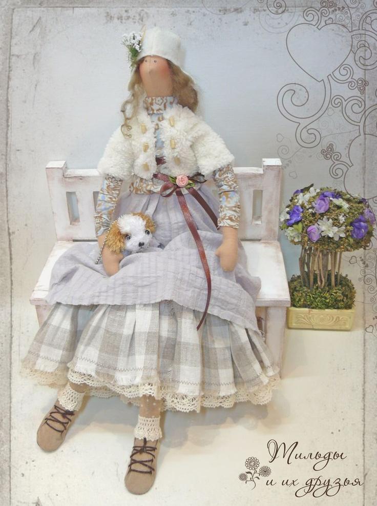 Fancily-dressed Tilda