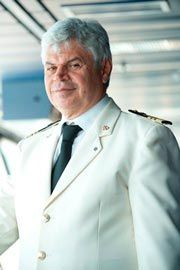 Captain Raffaele Ponti:  The younger brother of MSC Captain Raffaele Ponti started his career with MSC Cargo in 1979 with the rank of third officer. In 1990 he was given his first command of a cargo ship on MSC Barbara. In 2006, after 23 seasons, MSC Cruises offered him his first command of a cruise ship, on MSC Lirica. Captain Ponti  has commanded Lirica class ships and the MSC Melody. (updated: 2012)