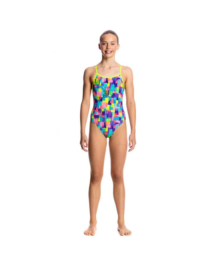 "Girl's ""Madam Monet"" one-piece swimsuit - $61.5 
