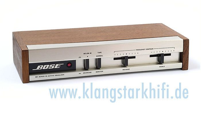 Bose 901 Active Equalizer Series Iii Equalizer Active Series