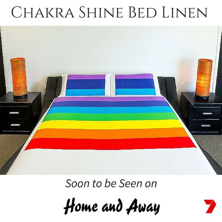 The team at Chakra Shine are super excited to announce that Channel 7's Home and Away will be using our Chakra Balancing Bed Linen on set!  In celebratory fashion, up for grabs is a custom made Bed Linen set to the first person who tags @chakrashine on our Facey page, when they view it live. Tell us which characters are spotted too. The prize is open to everyone, not just our fans, so share away with your fellow Home and Away buddies. @theofficialhomeandaway