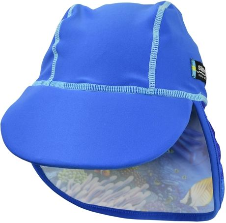 149 kr Swimpy UV-hatt Fish Blue 4+ år | Barnkläder UV & Bad | Jollyroom