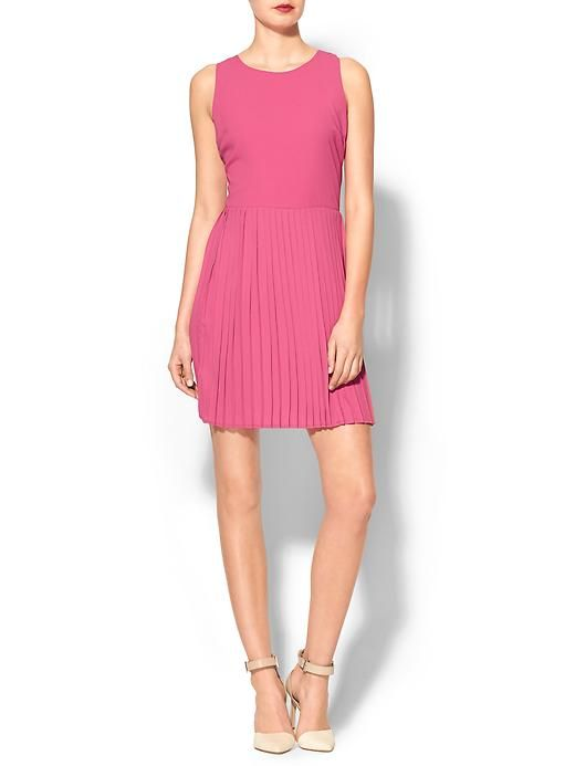 Pim + Larkin Harper Pleated Fit N Flare Dress | Piperlime