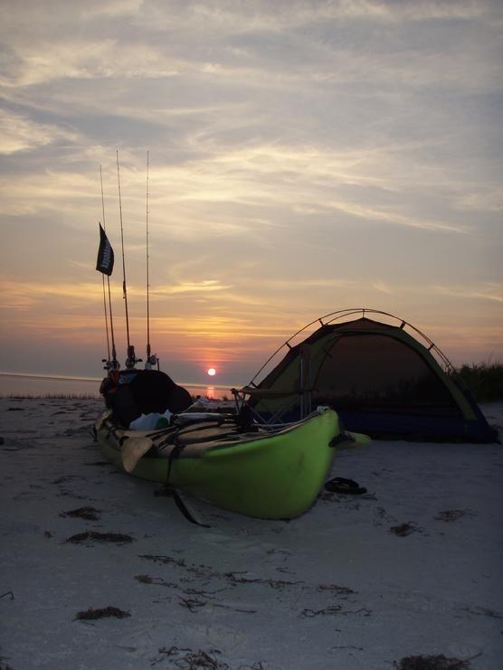 #Kayak camping. Like, Repin, Share, Follow Me! Thanks!