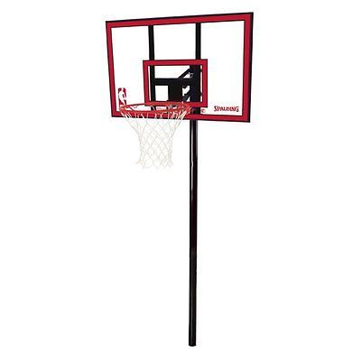Other Basketball 2023: Spalding Inground 44-Inch Polycarbonate Basketball System -> BUY IT NOW ONLY: $137.96 on eBay!