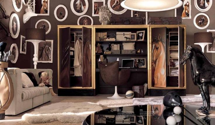 Luxusní nábytek do dětského pokoje od italské společnosti AltaModa http://www.saloncardinal.com/galerie-altamoda-3d0
