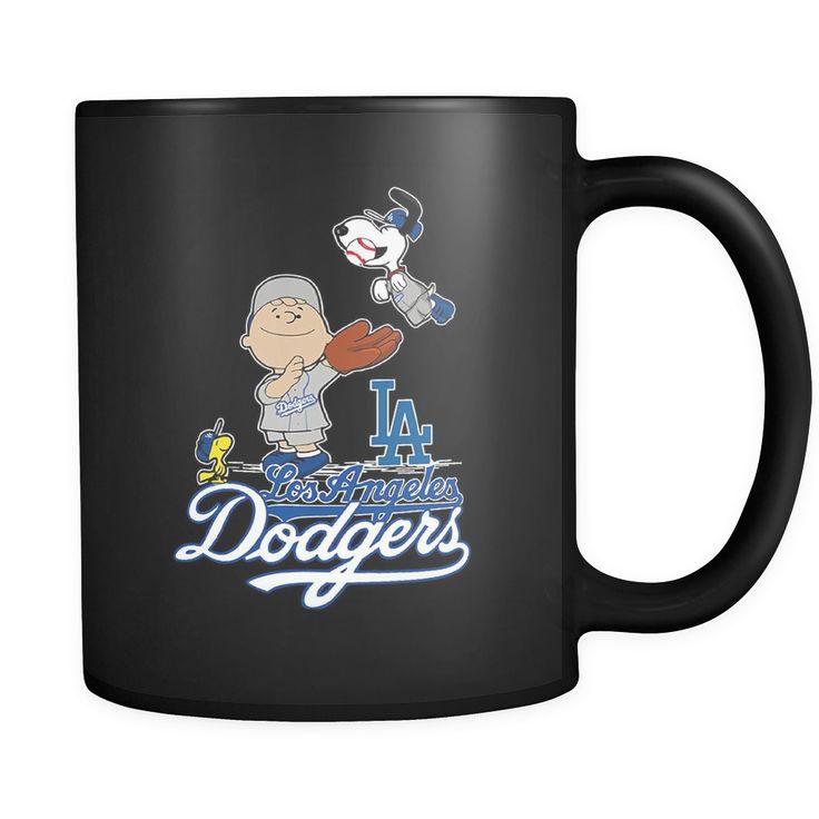 Peanuts Los Angeles Dodgers Baseball Snoopy Mug