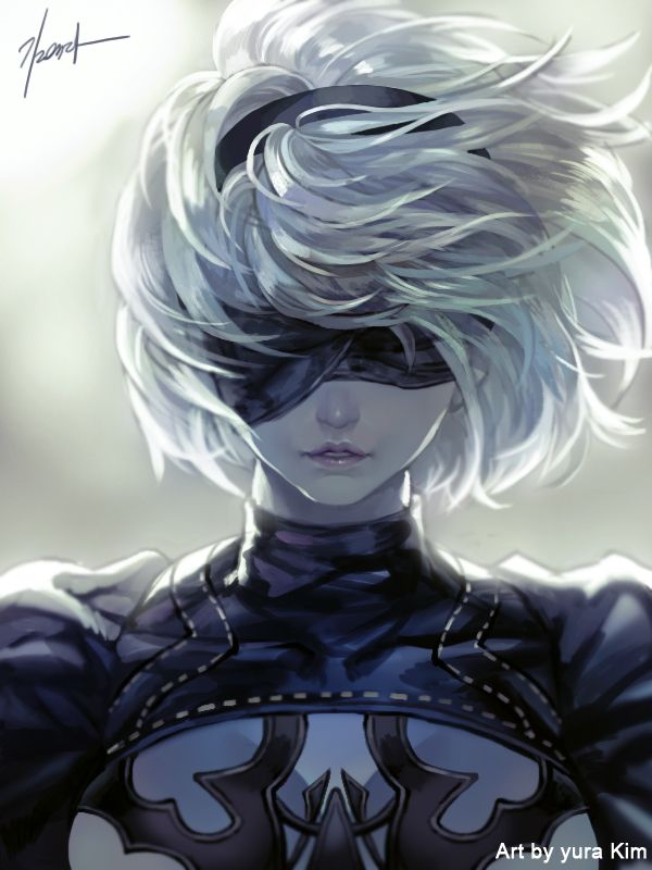 nier automata by GoddessMechanic.deviantart.com on @DeviantArt - More at https://pinterest.com/supergirlsart/ #fanart #2b