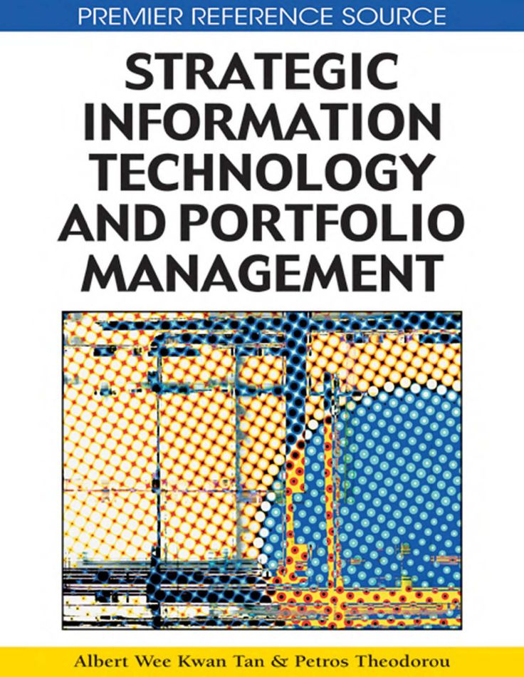 I'm selling Strategic Information Technology and Portfolio Management by Albert Wee Kwan Tan and Petros. T - $50.00 #onselz