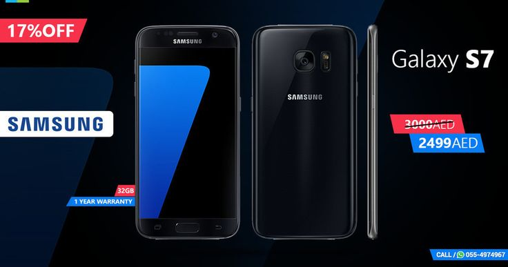 """""""--- To Place The Order Comment Your Number Below --- ل وضع النظام تعليق رقم هاتفك أدناه -- SPECIAL OFFER FOR Samsung Galaxy S7 <3 Offer Price 2499AED --- Original Price 3000AED OS Version: Android 6.0 (Marshmallow) Screen Size: 5.1 inch Screen Type: Super-AMOLED Display Type: Touchscreen SIM Support: Single SIM SIM Type: Nano SIM Data: 4G / LTE Connectivity: WiFi NFC GPS A-GPS Bluetooth GLONASS USB Storage: 32GB RAM: 4GB Processor Type: Octa Core Snapdragon 820 / Exynos 8890 64 bit Chipset…"""