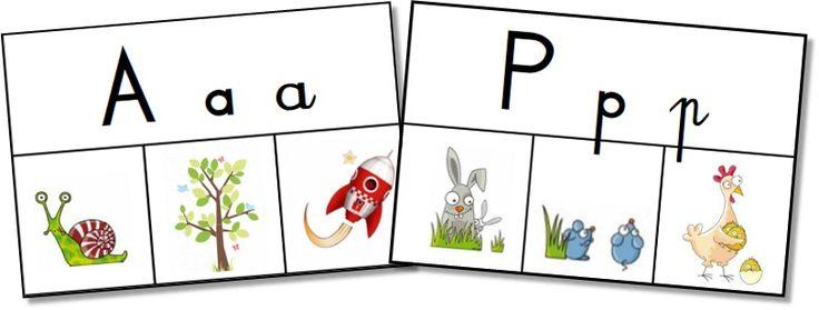 Par quelle lettre commence ce mot? Les spelling cards pour les GS-CP - Teacher Charlotte