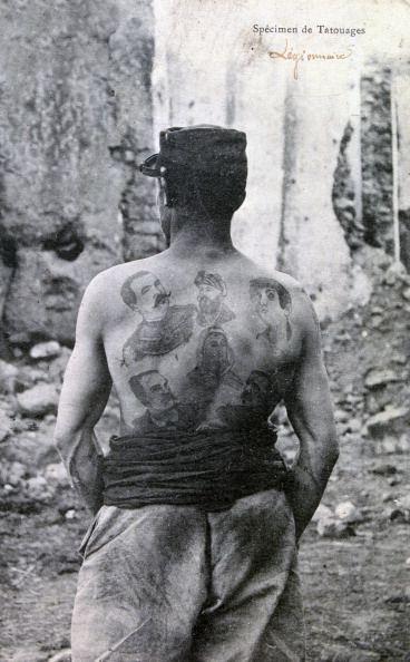 1908 - Légionnaire français
