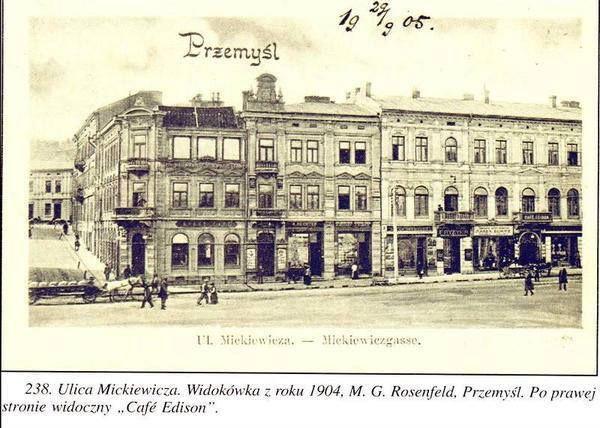 Przemyśl, ul. Mickiewicza (rok 1904)