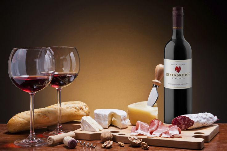 Beyerskloof Pinotage and a perfect pairing!