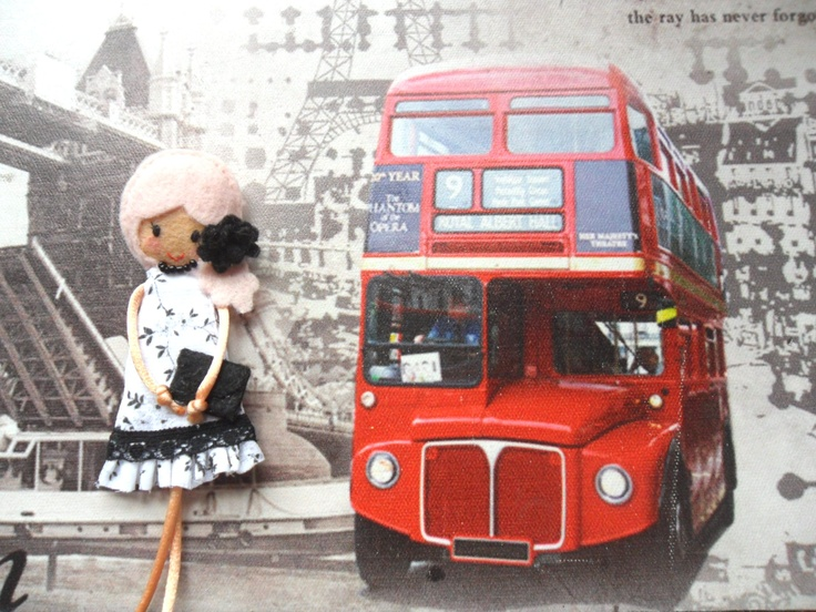 """Little """"London"""" likes to travel. She still hasn't been abroad. But she would like to! ;)"""