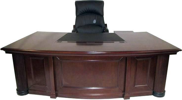 Wooden Office Desk Fancy Office Desk Big Big Office Desk Classic
