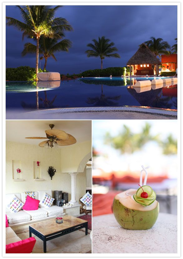 Zoetry Paraiso de la Bonita, Riviera Maya Mexico. This resort defies all stereotypes about all-inclusive hotels – it has a very luxury, boutique feeling.