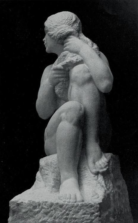 Jan Štursa (1880 -1925) - La Toilette