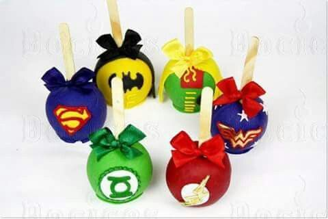 Super heroes apple