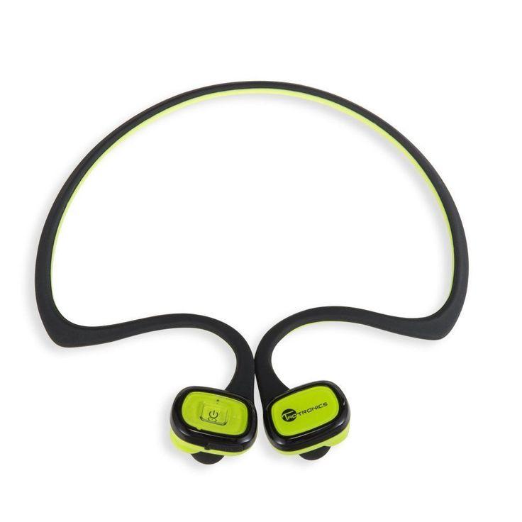 TaoTronics Bluetooth In-Ear Headphones Wireless Sweatproof Soft Silicone Gel Su