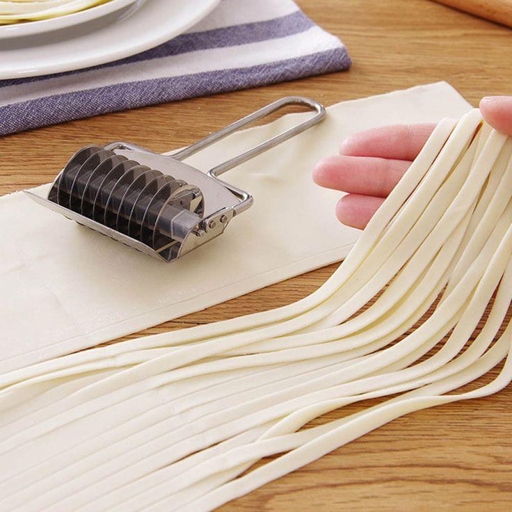 Stainless Steel DIY Manual Noodle Making Machine Pressing Pasta Machine Multifunction Rolling Ginger Garlic Grater Food Mills