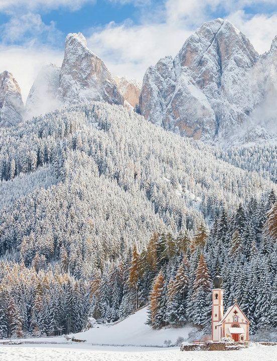 Puez-Geisler Nature Park: South Tyrol, Italy