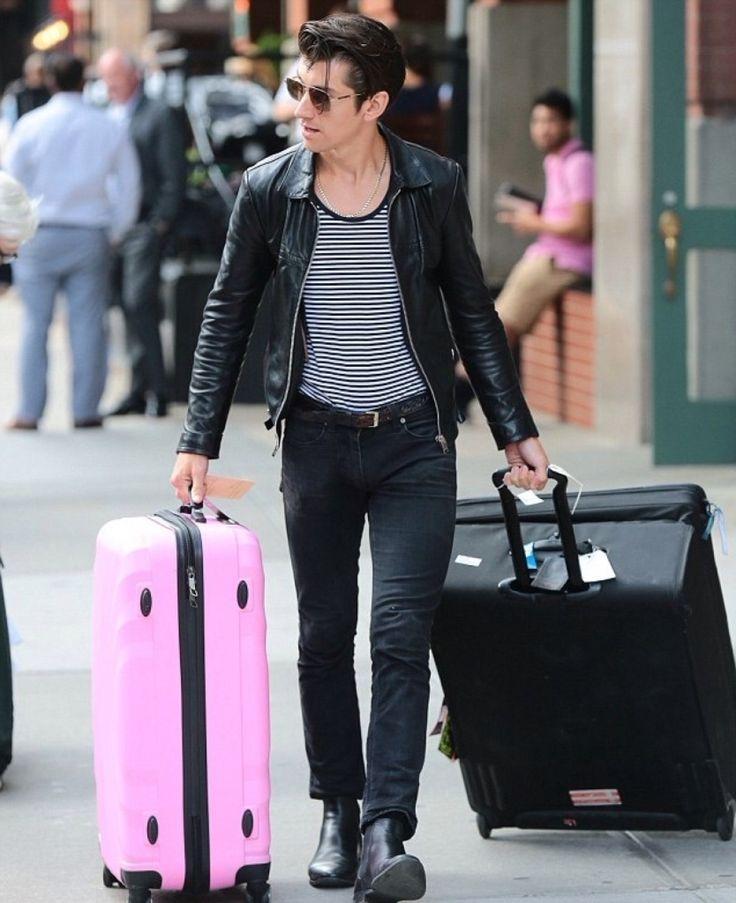 Arctic Monkeys Alex Turner Leather Jacket