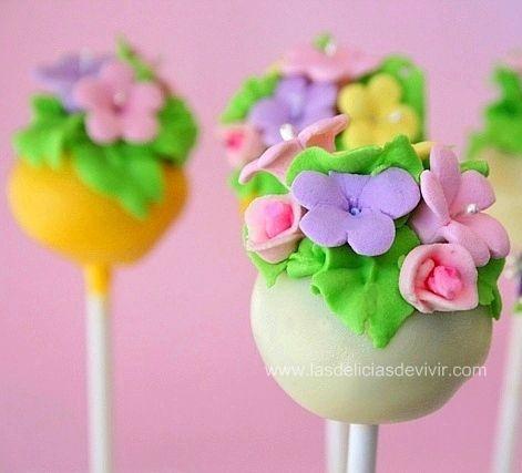 Las delicias del buen vivir: Por fin !!! Cake Pops