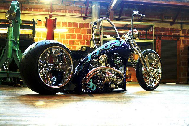 Outrageous Matt Hotch Designs V-Lux Chopper