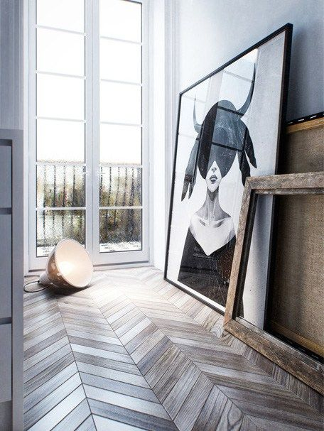 One more 3D space - via Coco Lapine Design