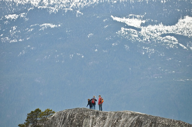 Stawamus Chief Mountain in Stawamus Chief Provincial Park, Squamish, B.C. (Photo: Stephen Hui) #hiking