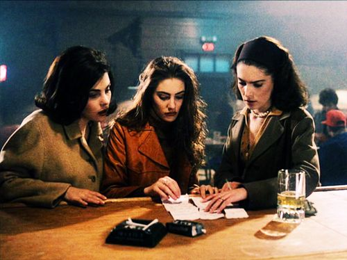 Audrey, Shelly, and Donna piece together the letter from Windom Earle