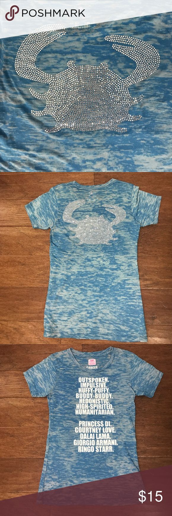 El Cancer Horoscope Tshirt