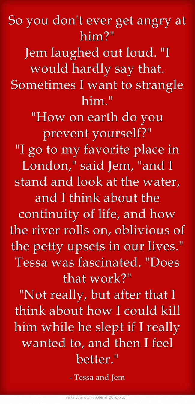 Tessa Gray and Jem Carstairs: The Infernal Devices Quotes, Time, Jem ...